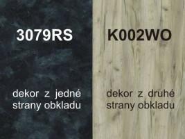 Zástena K002WO/3079RS 4100/640/10
