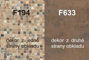 Zástena F194/F633 4100/640/9,2