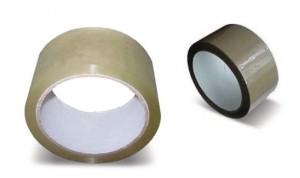 Baliaca páska hnedá  š.25mm (66m)