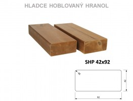 TERASY ThermoWood HRANOL SHP 42/92/3000