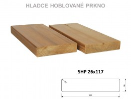 TERASY ThermoWood HRANOL SHP 26/117/3000