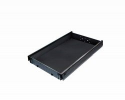 BBP OA zásuvka 510 mm plastová čierna