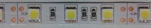 YUS-LED pásik 14,4W/M 12V biela studená