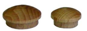 Záslepka-viečko s čapom 10mm Buk