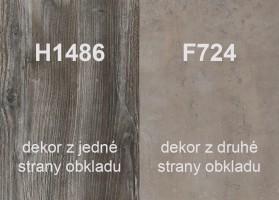 Zástěna H1486 ST36/F274 ST9 4100/640/9,2