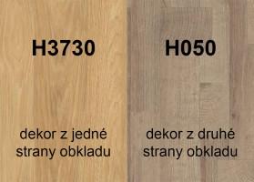Zástěna H3730 ST10/H050 ST9 4100/640/9,2