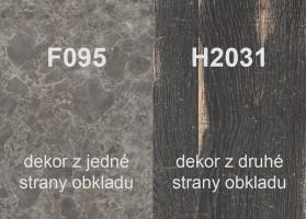 Zástena H2031 ST10/F095 ST87 4100/640/9,2