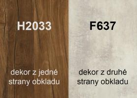 Zástěna H2033 ST10/F637 ST16 4100/640/9,2