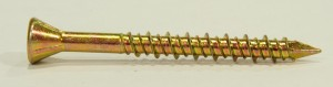Cetris vrut 4,2x45/25 zinok žltý