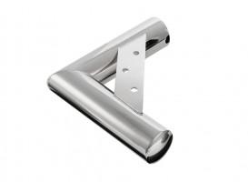 Nožička nábytková rohová NN24 35/220x200 mm chrom lesklý